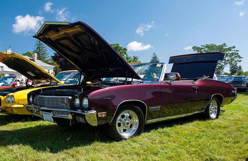 Endicott Estate Car Show